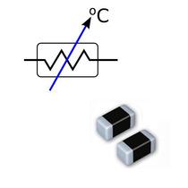 Termistor Ntc Sensor Temperatura Smd 100k