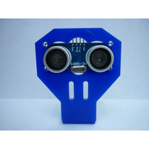 Montaje Para Ultrasónico Hc-sr04 Pic Arduin Avr Atmega Robot