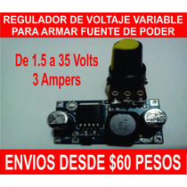 Regulador De Voltaje Variable Para Armar Fuente De Poder