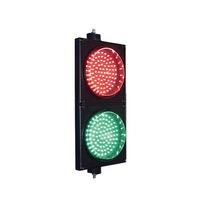 Semaforo De Señalizacion Rojo Y Verde