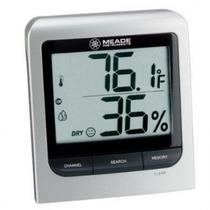 Meade Higrometro Termico Con Sensor Remoto Tm005x