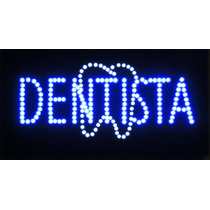 Anuncio De Led Dentista Con Muela /letrero Dental Luminoso