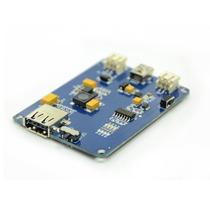 Liporider Pro Cargador Baterias Litio Para Panel Solar O Usb