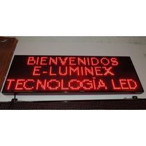 Tablero Programable Led/ Panel Despliega Mensajes Programabl