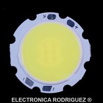 Led De Potencia 3 Watts Blanco Frio Cob Smd 3w 12 Volts