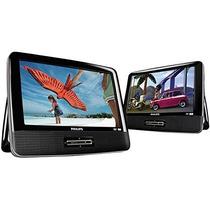 Tb Dvd Portatil Philips Pd9016p/37 Lcd 9-inch Dual Portable