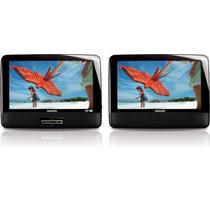 Tb Dvd Portatil Philips Pd9012/37 9-inch Lcd Dual Screen