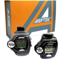 Set De 2 Walkie Talkie Radio Pulsera Reloj 2 Vías