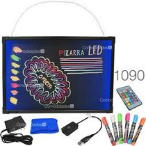 Pizarron Led Rgb Anuncio Luminoso Marcadores Neon 36 Efectos