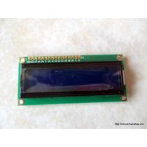 Display Lcd 2004 20x4 Arduino Raspberry Pi Fondo Azul