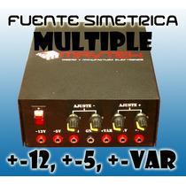 Fuente Multiple Variable Simetrica De Laboratorio 3a