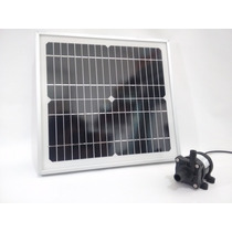 Paquete Bomba Agua + Panel Solar Energia Gratis! No Cfe