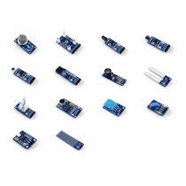 Kit De 14 Sensores Para Arduino, Pic, Robotica
