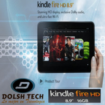Nuevo Amazon Tablet Kindle Fire Hd 8.9 16gb Dolby Audio Wifi