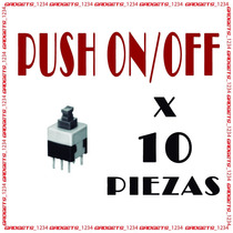 Push On Off Arduino Avr Atmel Pic Microchip!!! 10 Piezas¡¡¡