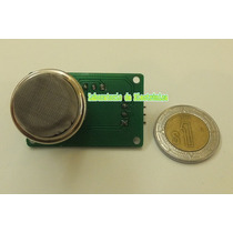 Módulo Detector De Metano/butano (sensor Gas Natural/gas Lp)