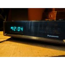 Radio Reloj Despertador Panasonic Antiguo De Los Ochentas