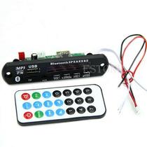 Modulo Decodificador Mp3 Bluetooth 12v Usb Sd Aux