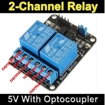 Arduino: Modulo De Dos Canales Relevador/relay 5v Pic Avr