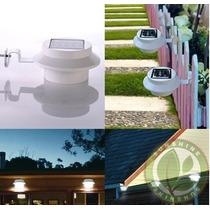 Lampara Tipo Sub-urbana Energia Solar Led Ahorro De Energia