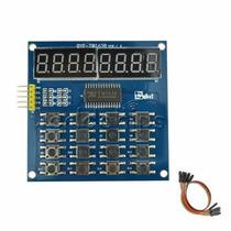 Arduino: Tecldo 4x4 Y Display 7 Segmentos 8-dig Con Tm1638