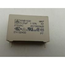 Capacitor Nuevo .33uf Knb1530