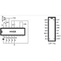 Circuito Integrado Hk625 Efectos De Sonido