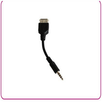 Cable Usb Hembra A 3.5 Macho Universal Practico Diseño Nuevo
