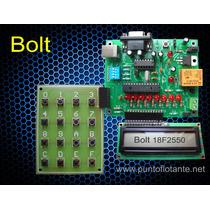 Kit Microcontrolador 18f2550 Tarjeta Desarrollo Puerto Usb