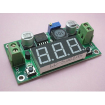 Lm2596: Convertidor Dc-dc Bulk Step Down + Voltímetro