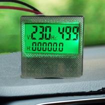 Medidor Digital De Ciclos De Ac En Hertz Y Voltaje 80-300v