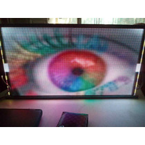 Led Display Anuncio Tecno Pantalla P5 Rgb Fullcolor Programa