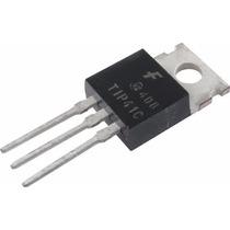 5 Transistores De Potencia Npn Tip41c