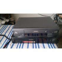 Videocasetera Vhs Toshiba