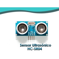 Sensor Ultrasonico Hc-sr04 Pic Arduino