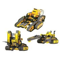 Kit Armable Robot Intercambiable 3 En Uno