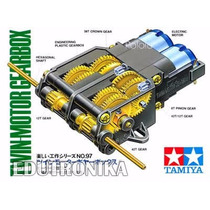 Tamiya 70097 Twin-motor Gearbox Kit Edutronika