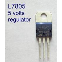 25 Pzs L7805 Regulador Voltaje 5 Volts. Envío Gratuito!