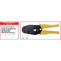Pinza De Crimpado Oval Para Bnc Cable Tipo Cecbv-75-2