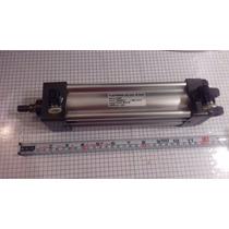 Cilindro Piston Neumatico 15cm De Carrera Conector Rapido.