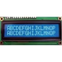 Lcd 16x2 Con Led / Microcontrolador / Pic / Arduino