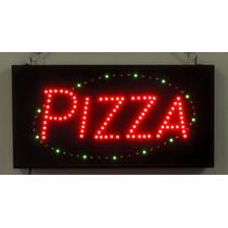Anuncio Luminoso De Leds Pizza Para Negocios Pizzerias