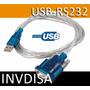 Cable Convertidor De Usb A Serial Rs232, Pic, Avr, Arduino