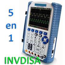Osciloscopio Dso8060 (5 En 1) Portatil A 60mhz