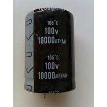 Capacitor Electrolítico 10000 Uf / 100vdc Hm4