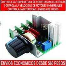 Control De Voltaje Ac Hasta 2000 Watts