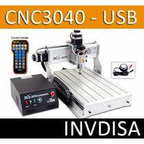 Cnc Mini Router Fresa Mill De Mesa Cnc3040 Interfaz Usb