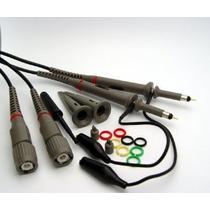Hantek 2 X 100mhz Osciloscopio Sondas Clip Con Kit De Acceso