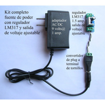 3x Kit Eliminador Adaptador Ac Dc Fuente Regulada Lm317