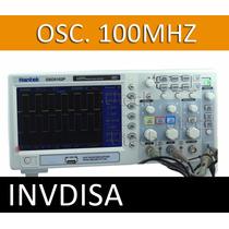 Osciloscopio Digital 100mhz 2ch 1gsa/s Pantalla A Color